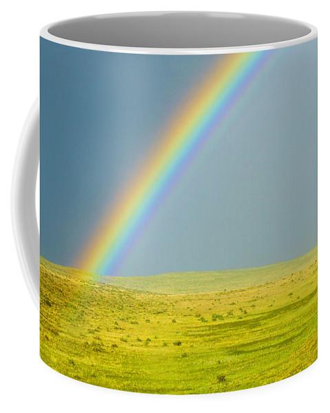 Colorado Coffee Mug featuring the photograph Colorado Rainbow by Marilyn Hunt