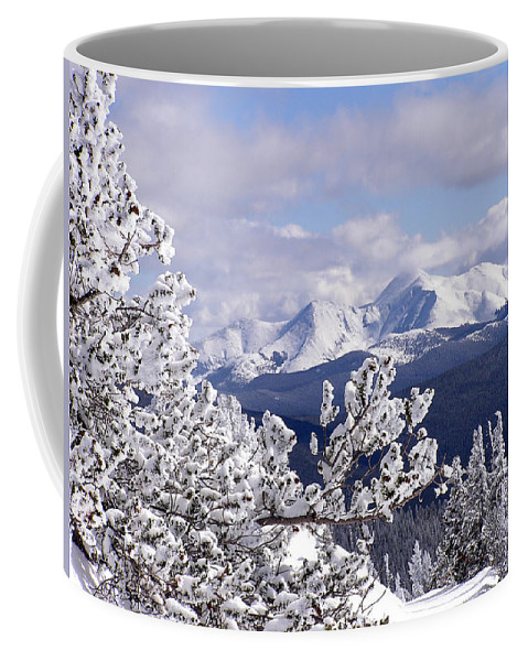Mountains Coffee Mug featuring the photograph Colorado Sawatch Mountain Range by Carol Milisen