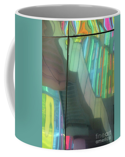 Montreal Coffee Mug featuring the photograph Colored Glass 15 by Randall Weidner