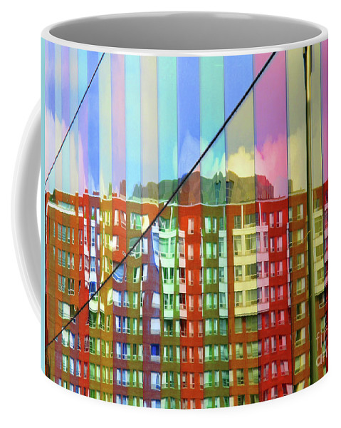 Montreal Coffee Mug featuring the photograph Colored Glass 6 by Randall Weidner