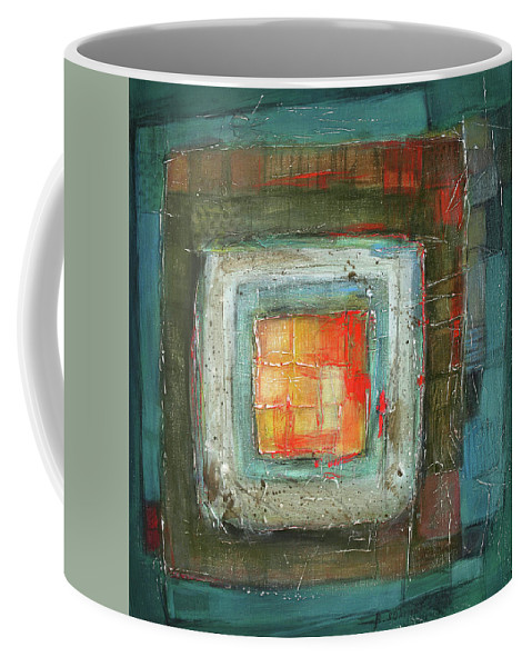 Sketching Coffee Mug featuring the painting Colorful by Behzad Sohrabi