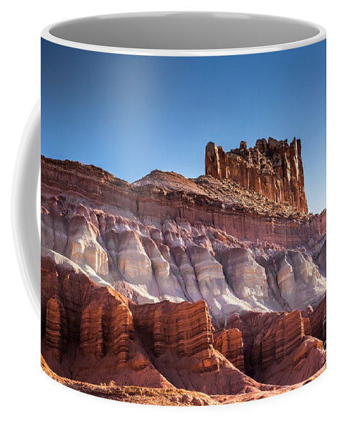 Colorful Coffee Mug featuring the photograph Colorful Castle Peak by Daryl L Hunter