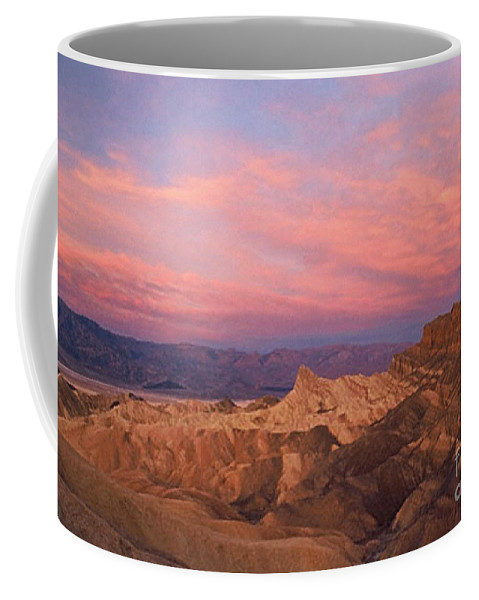 Death Valley Coffee Mug featuring the photograph Colorful Mountains by Sven Brogren