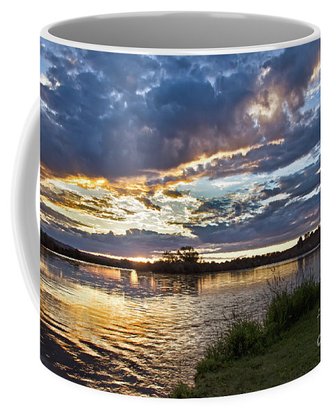 River Coffee Mug featuring the photograph Colorful Snake River by Robert Bales