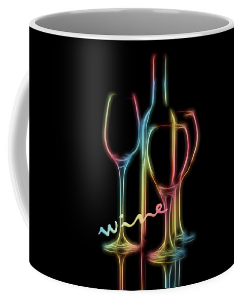 Alcohol Coffee Mug featuring the photograph Colorful Wine by Tom Mc Nemar