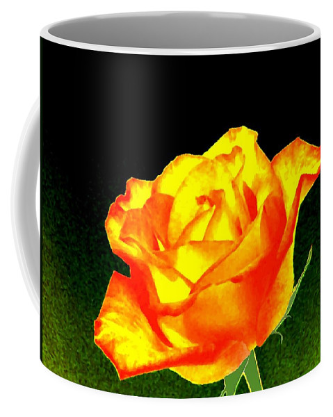 Photo Design Coffee Mug featuring the digital art Colormax 4 by Will Borden