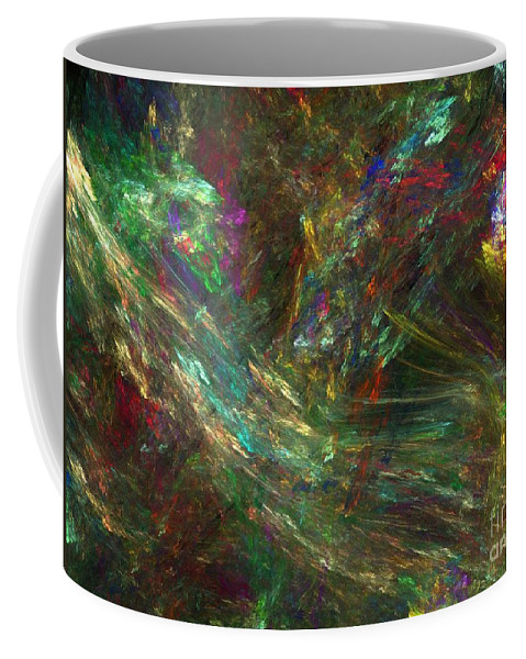 Fractals Coffee Mug featuring the digital art Colors Of Light by Richard Rizzo