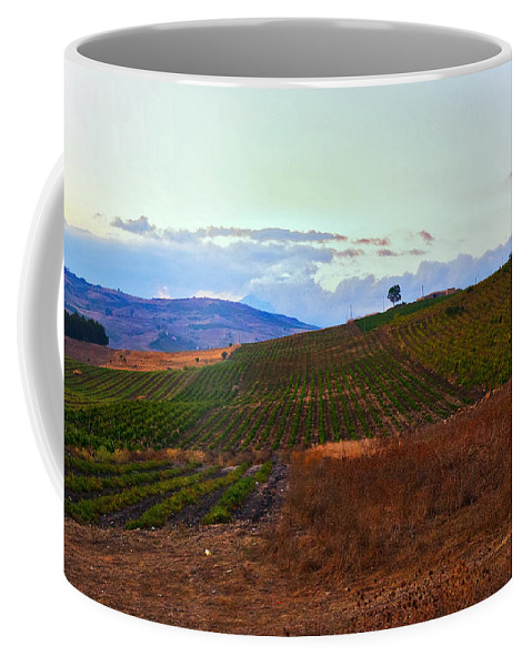Sicily Coffee Mug featuring the photograph Colors Of Sicily by Madeline Ellis