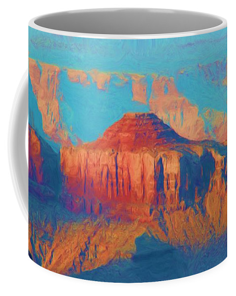 Grand Canyon Coffee Mug featuring the photograph Colors Of The Southwest - Grand Canyon by Heidi Smith