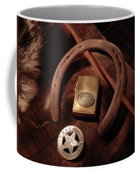 Western Coffee Mug featuring the photograph Colt Ranger by Daniel Alcocer