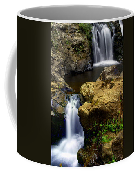 Waterfall Coffee Mug featuring the photograph Columba River Gorge Falls 2 by Marty Koch