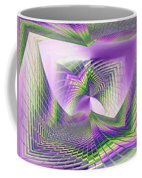 Seattle Coffee Mug featuring the photograph Columbia Tower Vortex 3 by Tim Allen