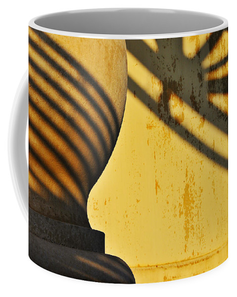 Architecture Coffee Mug featuring the photograph Comb Over by Skip Hunt