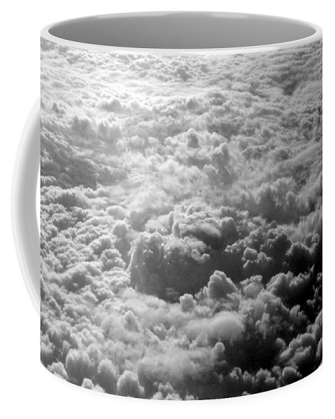 Clouds Coffee Mug featuring the photograph Combusting by Deborah Crew-Johnson