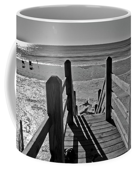 Topsail Coffee Mug featuring the photograph Come Down To My Level by Betsy Knapp