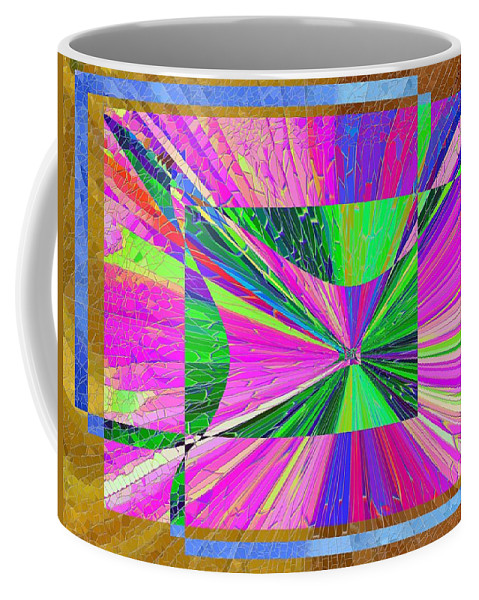 Abstract Coffee Mug featuring the digital art Come Fly Away by Tim Allen