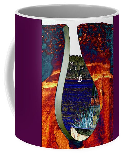 Bremerton Coffee Mug featuring the photograph Come Sail Away by Tim Allen