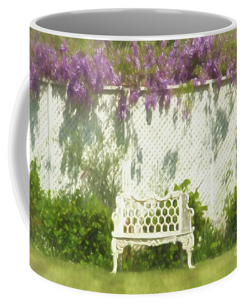 Coffee Mug featuring the photograph Come to Jordan Village by Marilyn Cornwell