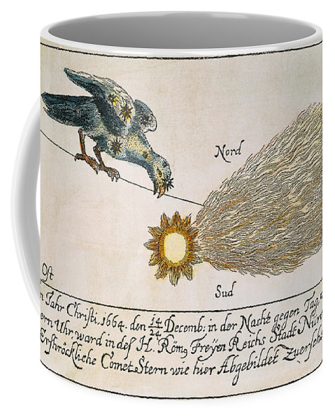 1664 Coffee Mug featuring the photograph Comet, 1664 by Granger