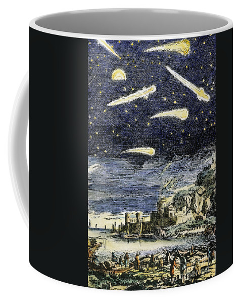 Comet Coffee Mug featuring the photograph Comets by Granger