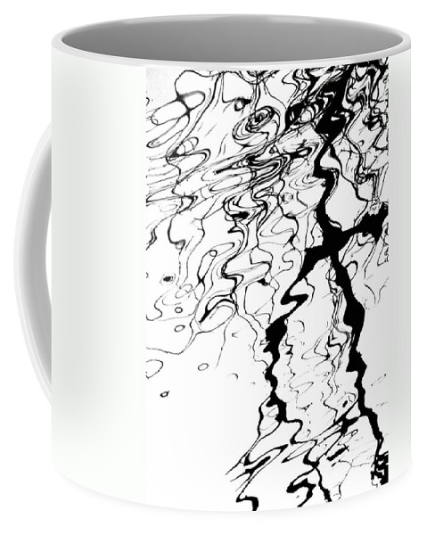 Water Coffee Mug featuring the photograph Comic Relief by Donna Blackhall