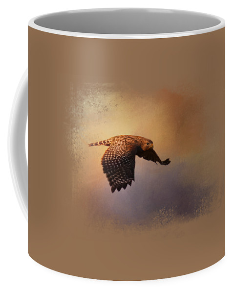 Jai Johnson Coffee Mug featuring the photograph Coming In For The Evening by Jai Johnson