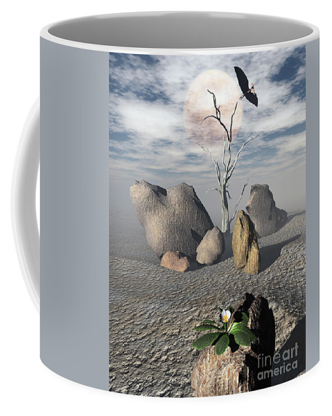 Ages Coffee Mug featuring the digital art Coming Of Age by Richard Rizzo