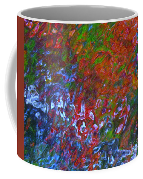 Abstract Coffee Mug featuring the photograph Coming Together by Sybil Staples