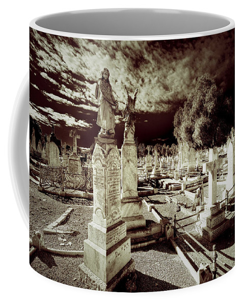 Angels Coffee Mug featuring the photograph Company Of Angels by Wayne Sherriff