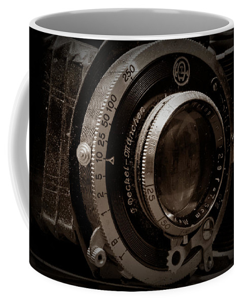 Camera Coffee Mug featuring the photograph Compur Relic by Scott Wyatt
