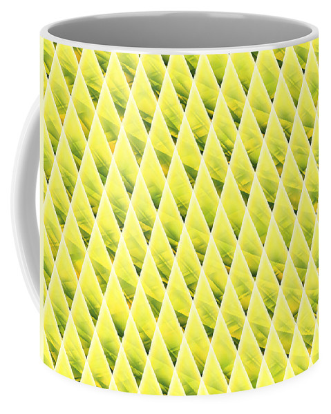 Cones Coffee Mug featuring the digital art Coneland by Shirlena Rudder