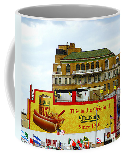 Food Coffee Mug featuring the photograph Coney Island Memories 9 by Madeline Ellis