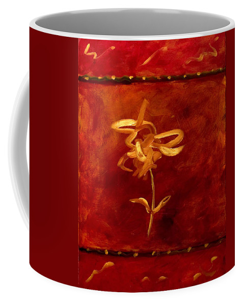 Abstract Coffee Mug featuring the painting Confidence by Shannon Grissom