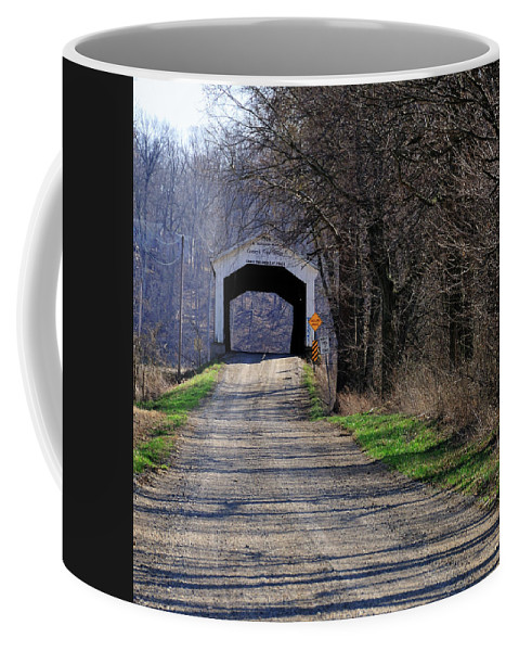 Conley's Foird Coffee Mug featuring the photograph Conley's Ford by David Arment