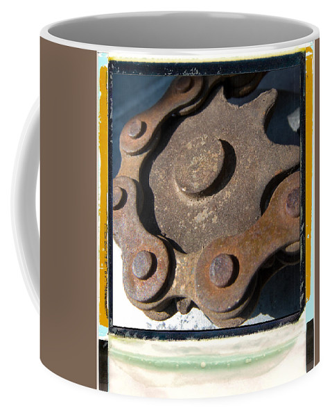 Chain Coffee Mug featuring the photograph Connected by Jeffery Ball