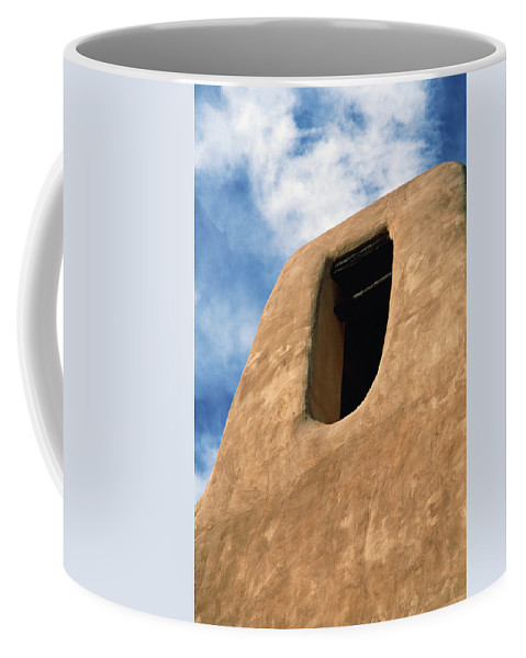Southwest Coffee Mug featuring the photograph Connection by Jim Benest