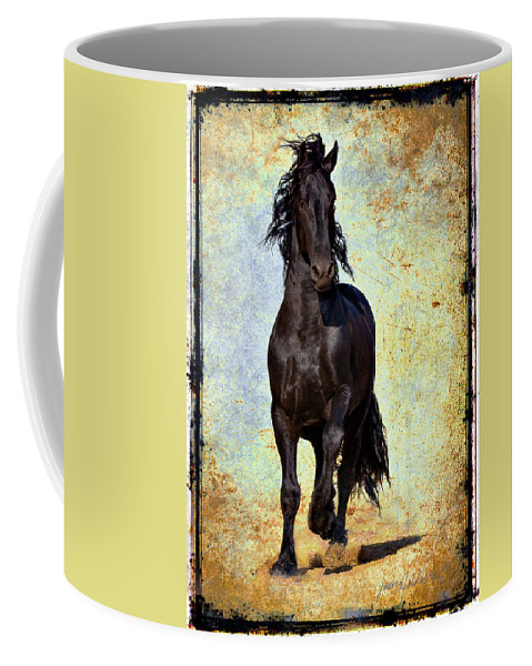 Coffee Mug featuring the photograph Conqueror by Jean Hildebrant