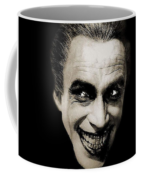 Coffee Man Gwynplaine The Conrad Who Veidt Laughs Mug 1928 As 2015 43ARL5j