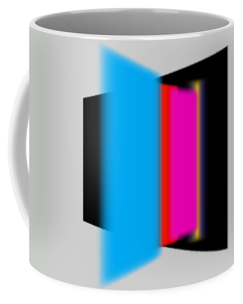 Constructivism Coffee Mug featuring the painting Construction by Charles Stuart