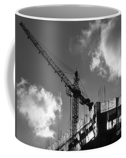 Heavens Coffee Mug featuring the photograph Construction Site by Yali Shi