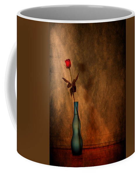 Composition Coffee Mug featuring the photograph Contemplation by Evelina Kremsdorf