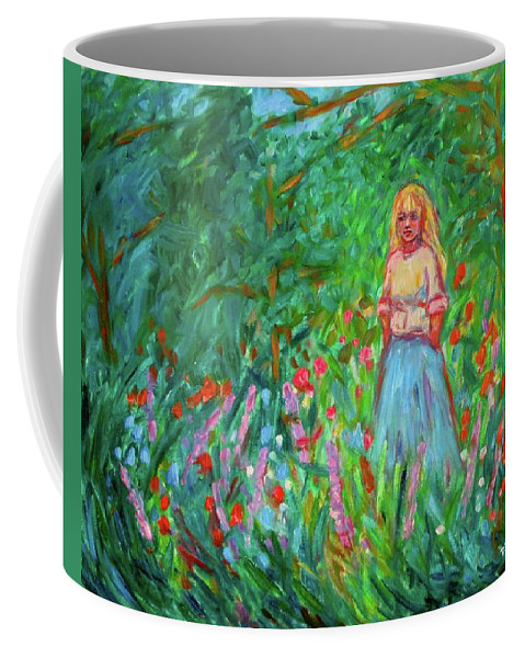 Landscape Coffee Mug featuring the painting Contemplation by Kendall Kessler