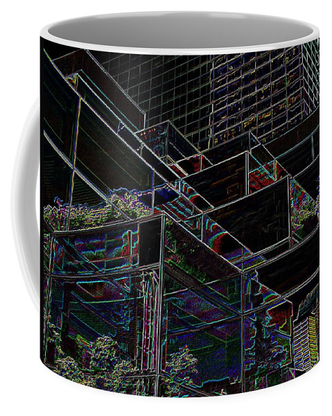 Seattle Coffee Mug featuring the photograph Convention Center by Tim Allen