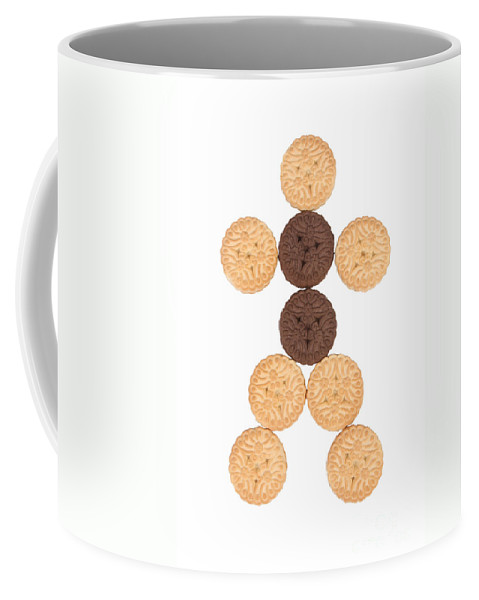 Cookies Coffee Mug featuring the photograph Cookie Man by James BO Insogna