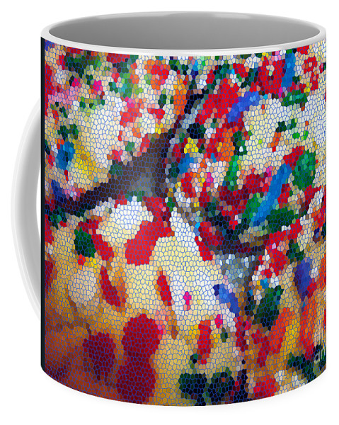 Cookies Coffee Mug featuring the photograph Cookies Mosaic by Nancy Mueller