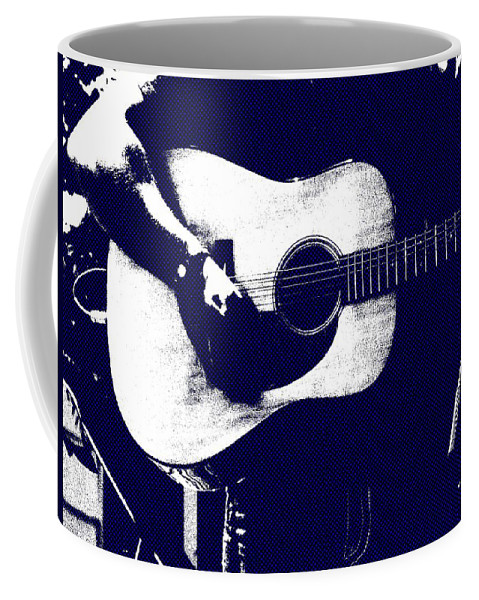 Music Coffee Mug featuring the photograph Cool Blues by Steve Cochran