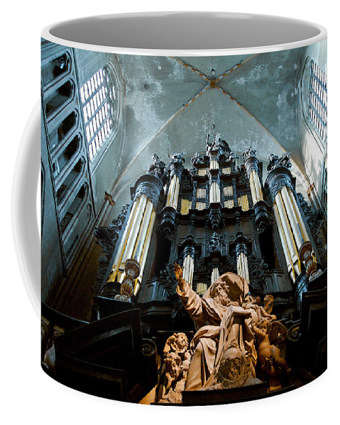 Lawrence Boothby Coffee Mug featuring the photograph Cool Organ by Lawrence Boothby
