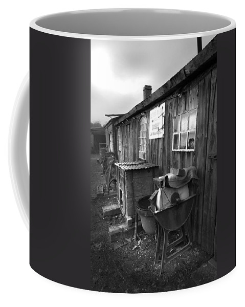 Shack Coffee Mug featuring the photograph Cool Shack Too by Bob Kemp