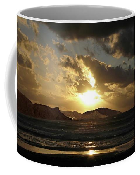 Sunset Coffee Mug featuring the photograph Cool Sunrise by Yuri Hope