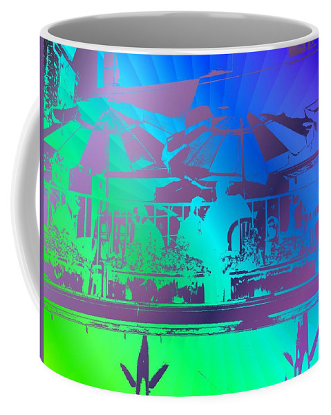 Seattle Coffee Mug featuring the photograph Copacabana by Tim Allen